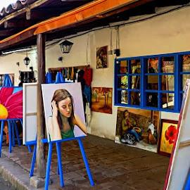 Santiago by Tricia Scott - City,  Street & Park  Markets & Shops ( chile, market, street, art, santiago, vendor fair,  )