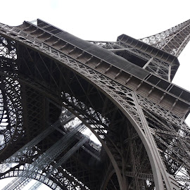 Eiffel Tower by Teresa Chadwick - Buildings & Architecture Statues & Monuments