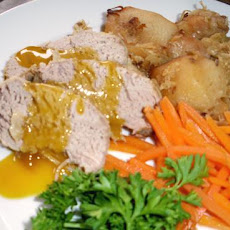 Crock Pot Pork With Sauerkraut, Apple & Potato