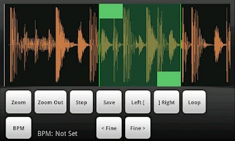 Screenshot of Sonic Chop Sample Ripper