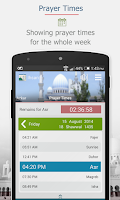 Screenshot of Ihsan - Prayer Times - Qibla