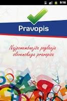 Screenshot of Pravopis