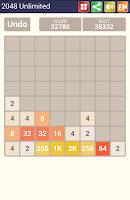 Screenshot of 2048 Unlimited