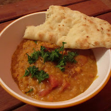 Spicy Lentil-Coconut Curry/Soup