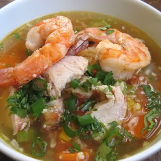Chicken and Shrimp Soup