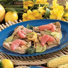 Citrus Tuna Steaks