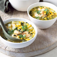 Sweetcorn & Prawn Soup