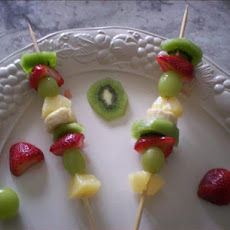 Fresh Fruit Kebabs