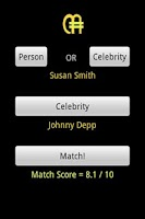 Screenshot of CelebMatch