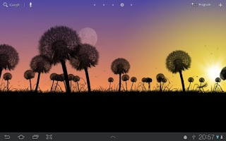 Screenshot of Dandelions Live Wallpaper