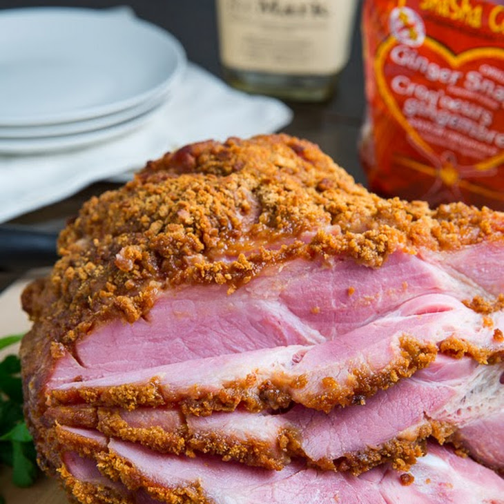 Ham Crusted With Mustard And Gingersnap Crumbs Recipes — Dishmaps
