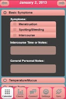 Screenshot of CyclePlus Fertility Tracker