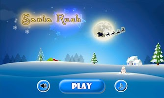 Screenshot of Santa Rush