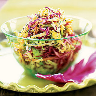 Confetti Slaw with Poppy-Seed Dressing