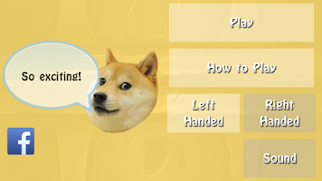 Screenshot of Swipe the Doge