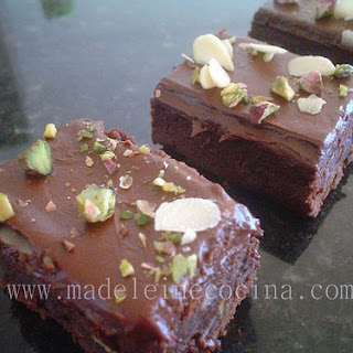 Mixed Nuts Brownies