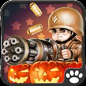 Kleiner Kommandeur Halloween
