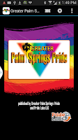 Screenshot of Palm Springs Pride