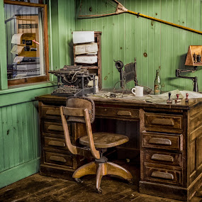 Old Office by RomanDA Photography - Artistic Objects Business Objects ( trains,  )