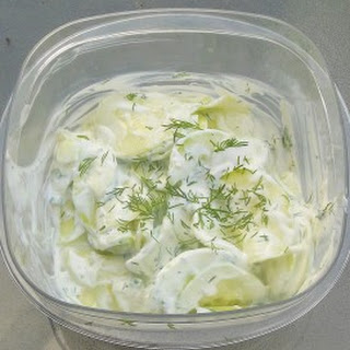 Food Network's Cucumber Salad