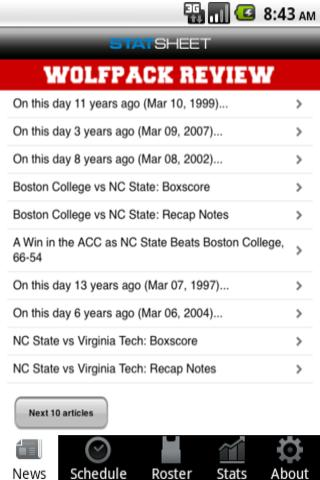 NC State Football Basketball