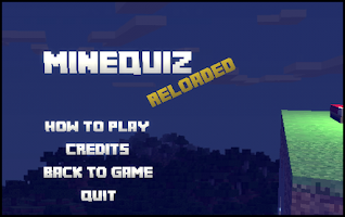 Screenshot of MineQuiz