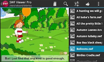 Screenshot of SWF Viewer Pro