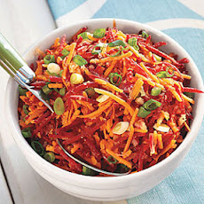 Carrot, Beet and Ginger Salad