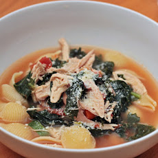 Rustic Chicken Minestrone
