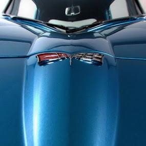 Classic Emblem by Allen Crenshaw - Artistic Objects Signs ( car, corvette, emblem, automobile, photography )