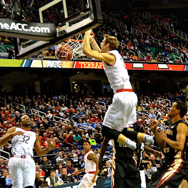 Slam Dunk by Tyrell Heaton - Sports & Fitness Basketball ( ncaa, acc tournament, maryland, terrapins )