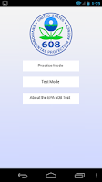 Screenshot of EPA 608 Practice (ads)