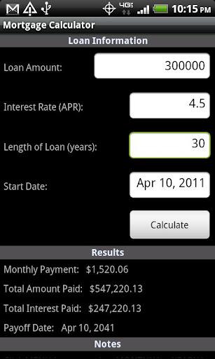 Mortgage Calculate Plus