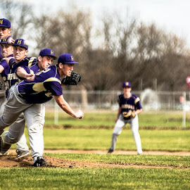 On the Mound by Earl Heister - Sports & Fitness Baseball