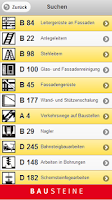 Screenshot of Bausteine der BG BAU