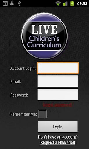 LIVE Children's Curriculum