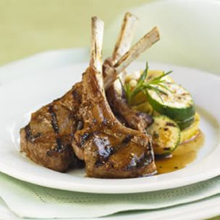 Lamb Chops with Balsamic Sauce
