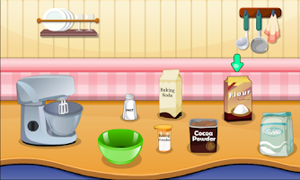 Screenshot of Creamy Chocolate Cake