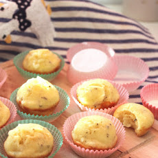 Sage Scented Montasio Cheese Mini-Muffins