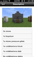 Screenshot of Furniture Ideas for Minecraft