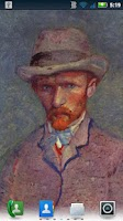 Screenshot of Van Gogh Self-Portraits