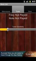 Screenshot of Music Aid Free