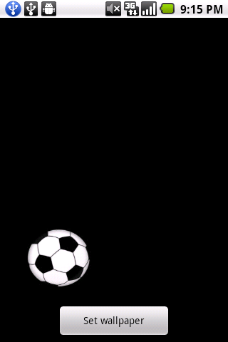 Soccer Live Wallpaper