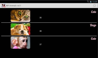 Screenshot of Wallpapers Animals Series 1