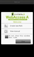 Screenshot of WebAccess A