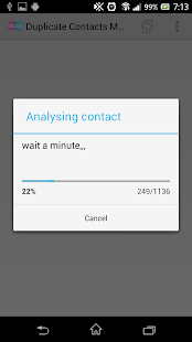 Duplicate Contacts Manager - screenshot