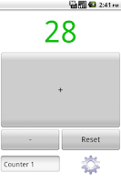 Screenshot of Tally Counter