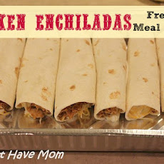 Chicken Enchliadas Freezer Meal