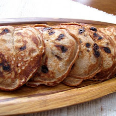 Spiced Chocolate Chip Pancakes