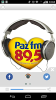 Screenshot of Radio Paz FM 89,5